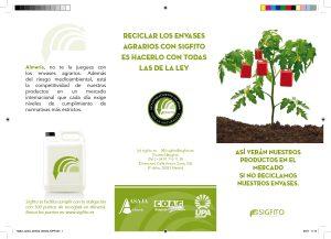 La imagen de la nueva campaña de Sigfito ayuda al reciclaje de envases agrarios