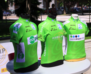 Maillot verde de la Vuelta. España Recicla