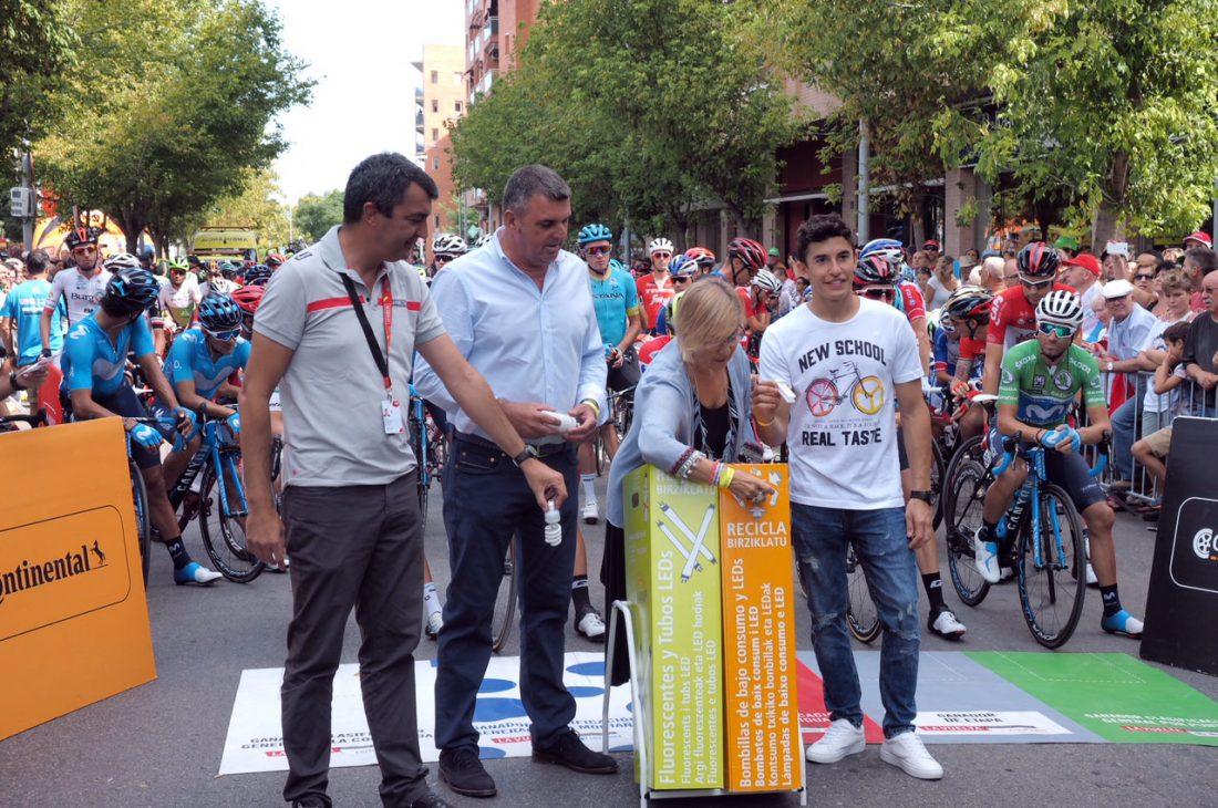 Marc Marquez recicla